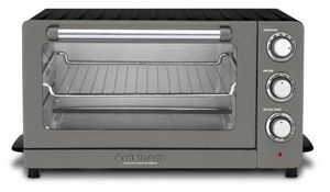TOB60N1BKS2 Cuisinart Toaster Oven Broiler with Convection - Black Stainless Steel