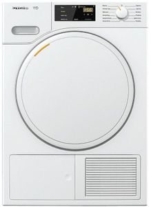 """TWB120WP Miele 24"""" Heat Pump Tumble Dryer with SteamFinish and FragranceDos - White"""