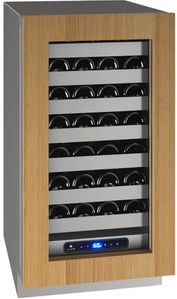 "UHWC518-IG01A U-Line 18"" 5 Class Series Integrated Frame Undercounter Wine Captain with Variable Speed Compressor and Convection Cooling System - Reversible Hinge - Custom Panel"