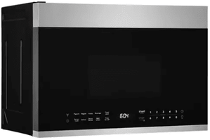 "UMV1422US Frigidaire 24"" 1.4 Cu. Ft. Over The Range Microwave with Interior LED Lighting and One-Touch Options - Stainless Steel"