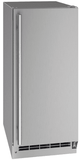 """UORE115SS01A U-Line 15"""" Outdoor Solid Refrigerator with Reversible Hinge and Digital Touch Pad Control - Stainless Steel"""