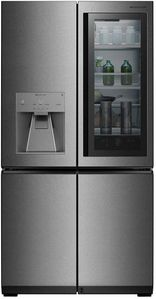 "URNTC2306N LG 36"" Signature Series 23 cu.ft. Wifi Enabled Counter Depth French Door Refrigerator - Textured Steel"