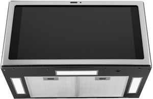 UVH13012MSS GE Profile Kitchen Hub Under Cabinet Hood with Wifi - Stainless Steel