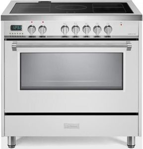"VDFSIE365W Verona 36"" Designer Series Induction Range - White"