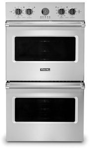 "VDOE530SS Viking 30"" Professional 5 Series Built-In Electric Double Premier Oven with Exclusive Black Chrome Knobs and VariSpeed Dual Flow Convection System - Stainless Steel"