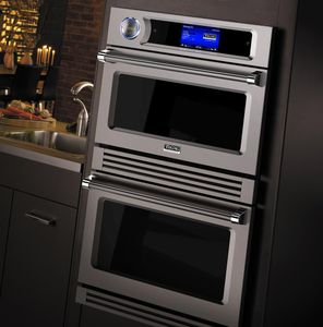 """VDOT730SS Viking 30""""  TurboChef 7 Series Electric Double Wall Oven with 7 Cook Modes and Airspeed Technology - Stainless Steel"""