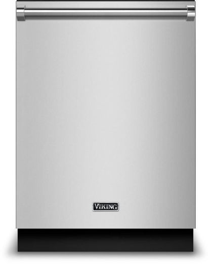 "VDWU324SS Viking 24"" Built-In Dishwasher With Stainless Steel Panel and LCD Control Panel - Stainless Steel"