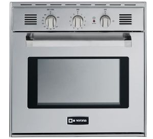 """VEBIG24NSS Verona 24"""" Gas Built In Single Wall Oven - Stainless Steel"""
