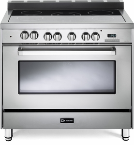 """VEFSEE365SS Verona 36"""" Electric Single Oven Range with Black Ceramic Glass Cooktop - Stainless Steel"""