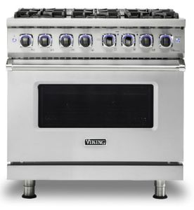 "VGR73626BSS Viking 36"" Professional 7 Series Gas Range with SureSpark Ignition System and Viking Elevation Burners - 6 Burners - Natural Gas  - Stainless Steel"
