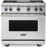 Viking Dual Fuel Ranges - Gas Cooktop Electric Oven