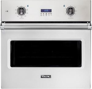"""VSOE130SS Viking 30"""" Professional 5 Series Built-In Select Electric Single Oven with Exclusive Black Chrome Knobs and VariSpeed Dual Flow Convection System - Stainless Steel"""