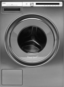 "W4114CT Asko 24"" Logic Series Front Load Washer with Active Drum and Quattro Suspension - Titanium"