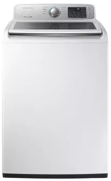 Wa45m7050aw Samsung 27 Quot 4 5 Cu Ft Top Load Washer With
