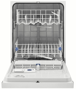 WDF520PADM Whirlpool Dishwasher with AnyWare Plus Silverware Basket - Monochromatic Stainless Steel