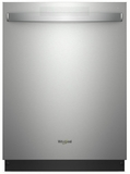 """WDT750SAHZ Whirlpool 24"""" Fully Integrated Dishwasher 15 Place Setting Capacity - Fingerprint Resistant Stainless Steel"""