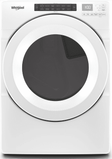 "WED5620HW Whirlpool 27"" 7.4 Cu. Ft. Electric Dryer with Advanced Moisture Sensing and EcoBoost Options - White"