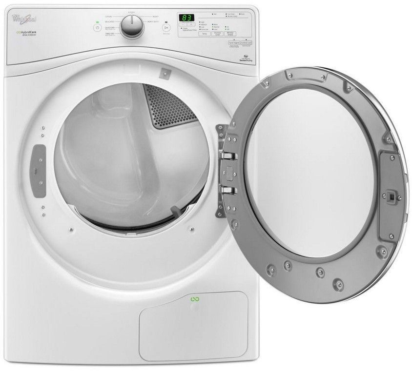 WED7990FW Whirlpool 7.4 Cu. Ft. Electric Dryer With True