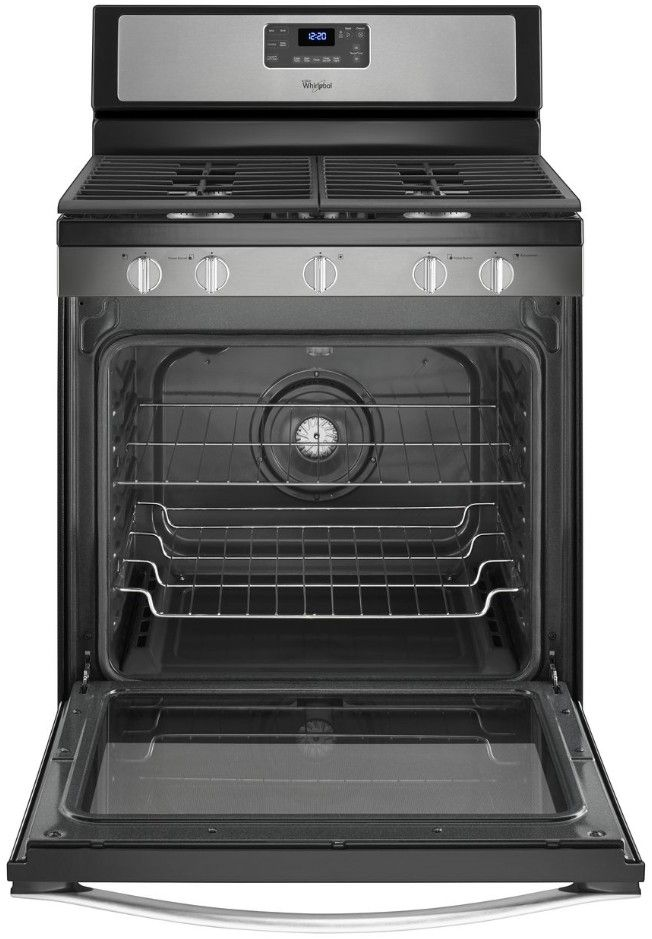 Wfg540h0es Whirlpool 5 8 Cu Ft Freestanding Counter