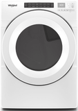 "WGD5620HW Whirlpool 27"" Gas Dryer with Advanced Moisture Sensing and EcoBoost Option - White"