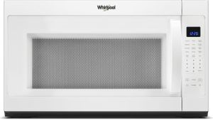 """WMH53521HW Whirlpool 30"""" 2.1 Cu. Ft. Over-the-Range Microwave Hood Combination with Sensor Cooking and CleanRelease Interior - White"""