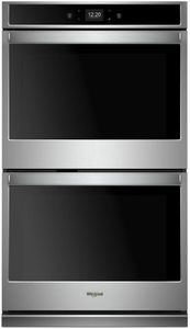 "WOD51EC0HS Whirlpool 30"" Double Wall Oven with Touch Screen and Frozen Bake Technology - Stainless Steel"