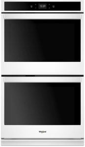 """WOD51EC0HW Whirlpool 30"""" Smart Double Electric Wall Oven with Frozen Bake Technology and Multi Step Cooking - White"""