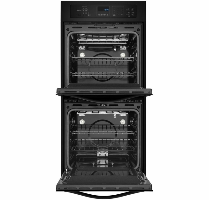 Wod51es4eb Whirlpool 24 Inch Wide 6 2 Cu Ft Double Wall Oven