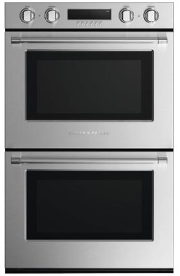 "WODV230N Fisher & Paykel 30""Double Wall Oven with 10 Cooking Modes and a True Convection System - Stainless Steel"