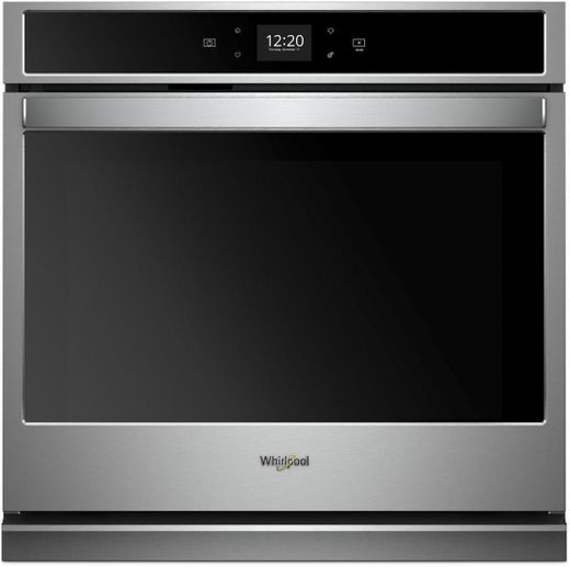 "WOS51EC0HS Whirlpool 30"" Smart Single Wall Oven with Scan to Cook Technology and Frozen Bake Technology - Stainless Steel"
