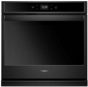 """WOS51EC7HB Whirlpool 27"""" Smart Electric Single Wall Oven with Touchscreen - Black"""