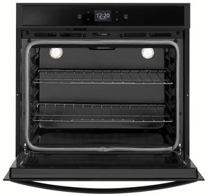 "WOS51EC7HB Whirlpool 27"" Smart Electric Single Wall Oven with Touchscreen - Black"
