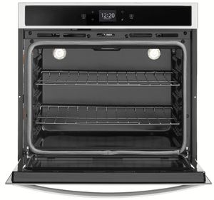 "WOS51EC7HS Whirlpool 27"" Electric Single Wall Oven with True Convection and Frozen Bake Technology - Stainless Steel"