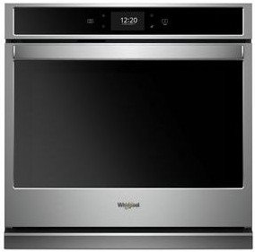 """WOS72EC7HS Whirlpool 27"""" Single Wall Oven with True Convection and Frozen Bake Technology - Stainless Steel"""