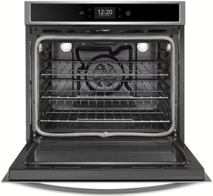 "WOS72EC7HS Whirlpool 27"" Single Wall Oven with True Convection and Frozen Bake Technology - Stainless Steel"