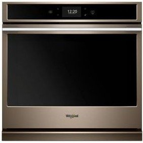 "WOSA2EC0HN Whirlpool 30"" Single Wall Oven with True Convection and Frozen Bake Technology - Fingerprint Resistant Sunset Bronze"