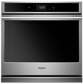 "WOSA2EC0HZ Whirlpool 30"" Single Wall Oven with True Convection and Frozen Bake Technology - Fingerprint Resistant Stainless Steel"