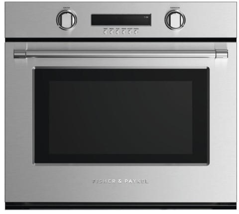 """WOSV230N Fisher & Paykel 30""""Single Wall Oven with 10 Cooking Modes and a True Convection System - Stainless Steel"""