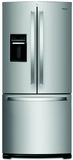 "WRF560SEHZ Whirlpool 30"" 20 cu. ft. French Door Refrigerator with Humidity-Controlled Crispers and FreshFlow - Fingerprint Resistant Stainless Steel"