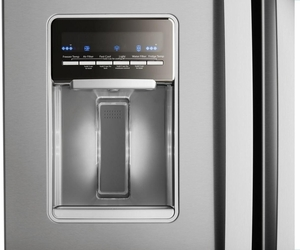 """WRF560SEHZ Whirlpool 30"""" 20 cu. ft. French Door Refrigerator with Humidity-Controlled Crispers and FreshFlow - Fingerprint Resistant Stainless Steel"""