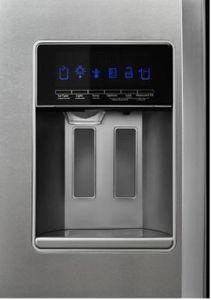 """WRS571CIHZ Whirlpool 36"""" Freestanding Counter Depth Side by Side Refrigerator with Accu-Chill Temperature Management System and LED Interior Lighting - Stainless Steel"""