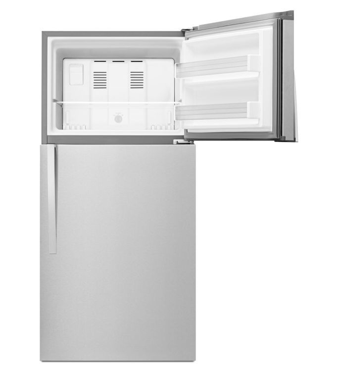 Wrt519szdm Whirlpool 30 Wide Top Freezer Refrigerator With Led