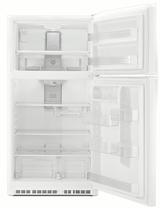 "WRT541SZDW Whirlpool 33"" Top-Freezer Refrigerator - White"