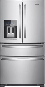 """WRX735SDHZ Whirlpool 36"""" 25 Cu. Ft. French Door Refrigerator with Accu-Chill and EveryDrop Filtration - Fingerprint Resistant Stainless Steel"""