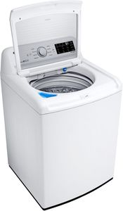 """WT7100CW LG 27"""" Rear Control Top Load Washer with ColdWash Option and 8 Wash Programs - White"""