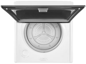 "WTW7500GW Whirlpool 28"" 4.8 cu. ft. Top Load Washer with ColorLast Cycle and Active Bloom - White"