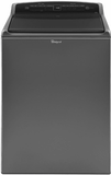 "WTW7500GC Whirlpool 28"" 5.5 cu. ft. Top Load Washer with Deep Water Wash Option and Low-Profile Impeller - Black"