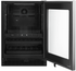"WUB35X24HZ Whirlpool 24"" 5.2 Cu. Ft. Undercounter Beverage Centre with LED Interior Lighting and Dual -Temperature Controlled Zone - Stainless Steel"