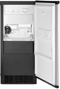 """WUI95X15HZ Whirlpool 15"""" Undercounter Ice Maker with Clear Ice Technology - Fingerprint Resistant Stainless Steel"""