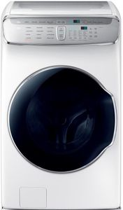 """WV60M9900AW Samsung 27"""" 6.0 cu. ft. Capacity Front Load Washer With FlexWash and SteamWash - White"""